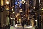 Зимняя Швеция привлекает туристов. // Anders Ekholm