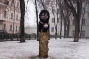 """Киевский памятник """"ежику в тумане"""" // community.livejournal.com/interesniy_kiev"""