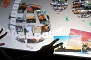 Сферы с файлами можно вращать руками. // trendhunter.com