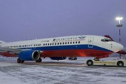 """Самолет Boeing 737-800 авиакомпании """"Атлант-Союз"""" // atlant-soyuz.ru"""
