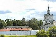 Музей находится в стенах Спасо-Андроникова монастыря. // rublev-museum.ru