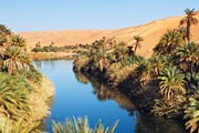 Живописное озеро Mandara в Ливии // GettyImages / Frank Krahmer