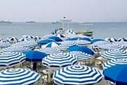 Пляж в Ницце // Vincent Ricardel