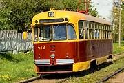В Витебске появились экскурсионные трамвай и троллейбус. // transit.parovoz.com