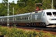 Поезд компании Statens Järnvägar // nemonet.swefair.se
