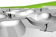 Проект скейт-парка // dn.se