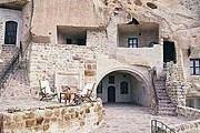 Пещерный отель предлагает постояльцам 10 номеров. // telegraph.co.uk