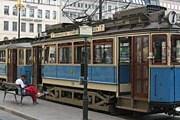 Трамвай на конечной остановке Norrmalmstorg // wikimedia.org