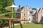 В парке замка Кло-Люс установлены модели изобретений да Винчи. // ricksteves.com