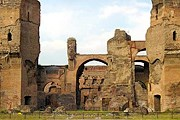 Термы Каракаллы пострадали от землетрясения. // wikimedia.org