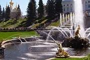 Фонтаны Петергофа расположены в Нижнем парке. // naukograd-peterhof.ru