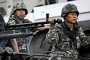В Бангкоке введено чрезвычайное положение. // AP