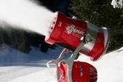 Снежные пушки позволят лыжникам кататься здесь даже летом. // is-sport.ru