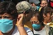 На улице в Мексике лучше ходить в маске. // bbc.co.uk