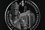 На монете изображен портрет Владыслава Ягелло на фоне пшемысльского кафедрального собора. // marketing-news.pl