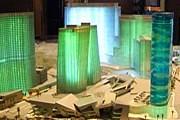 Макет комплекса роскошных отелей и казино CityCenter // Studio360