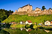 В Штернберке проходит выставка моделей замков. // hotels-in-czech.com