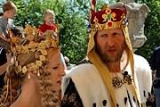 На праздник прибудет король. // stribreni.cz