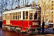 На улицах Москвы можно будет увидеть ретротрамваи. // tram.ruz.net