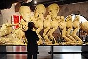 """Композиция """"Поезд. Остров свиней"""" Пола Маккарти - один из экспонатов нового центра. // AFP"""