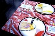 В ресторане установлены интерактивные столы. // inamo-restaurant.com