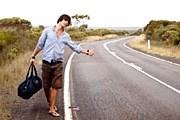 Автостоп в Ура-Нихоне  - развлечение как для туристов, так и для водителей. // Kent Mathews