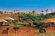Отель Al Maha Desert Resort&Spa расположен в настоящей пустыне. // al-maha.com