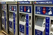 """""""Билетоматы"""" начали принимать к оплате банковские карты. // TWN Warszawa"""