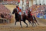 Палио - один из главных праздников в городе. // telegraph.co.uk