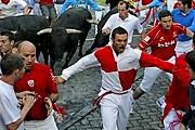 Забеги быков - главное событие праздника. // gaceta.es