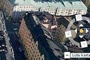 Стокгольм на 3D-карте // hitta.se