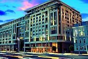 """Архитекторы, проектируя здание, добавили элементы """"сталинского"""" стиля. // realestatechannel.com"""