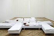 В зале установлены кровати. // visitcopenhagen.com