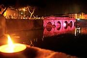 В городе включат розовую подсветку. // lanotterosa.it