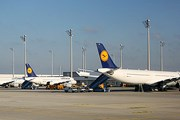 Самолеты авиакомпании Lufthansa // Airliners.net