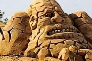 Выставка скульптур из песка откроется на пляже. // chezpilou.info