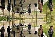 Новый павильон в Гайд-парке будет открыт до 18 октября. // AFP