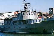 Корабль Bryza спустят под воду. // marynarkawojenna.pl