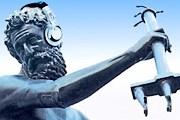 Гданьский Нептун познакомит туристов с городом. // audioguide.com.pl