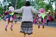 В историческом парке сооружена детская площадка. // Ilmar Saabas