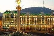 Площадь Свободы в Тбилиси - популярное у гостей города место. // tbilisi.gov.ge