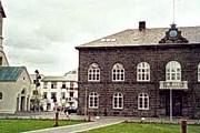 Здание парламента в Рейкъявике. // wikipedia.org