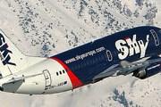 Самолет авиакомпании Sky Europe // Airliners.net