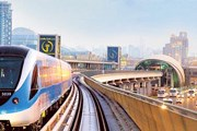 Поезд метро в Дубае // gulfnews.com