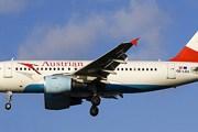 Самолет авиакомпании Austrian Airlines // Airliners.net