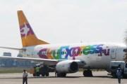 Самолет авиакомпании Sky Express в аэропорту Сочи // Travel.ru