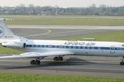 """Самолет Ту-134 авиакомпании """"Аэрофлот-Дон"""" // Airliners.net"""