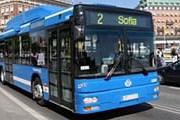 Стокгольмский автобус, работающий на биогазе. // busstidningen.se