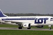 Самолет авиакомпании LOT // Airliners.net