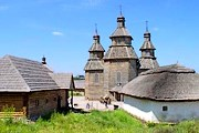 """""""Запорожская Сечь"""" популярна среди туристов. // travelzp.net"""